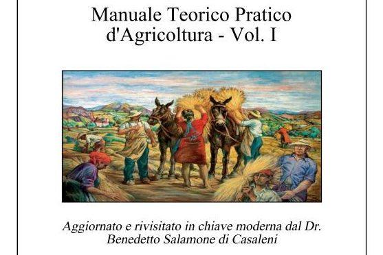 Torna alle stampe il Manuale Teorico Pratico d' Agricoltura